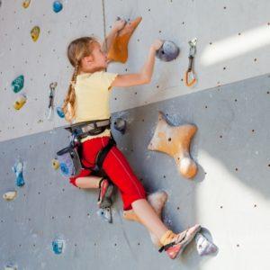 Klettergriffe gibt es in den verschiedensten Formen, Größen und Farben. Selbst für Kinder finden sich spezielle Kinderklettergriffe.